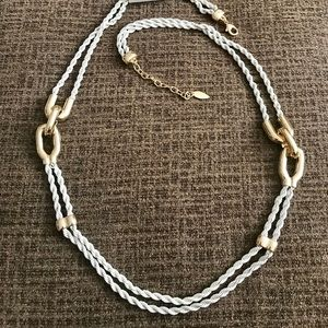 NWT Coldwater Creek Long Rope Necklace